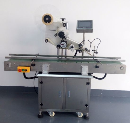 Plastic Box Flat Labeling Machine and Bag Flat Labeling Machine Automatic pictures & photos