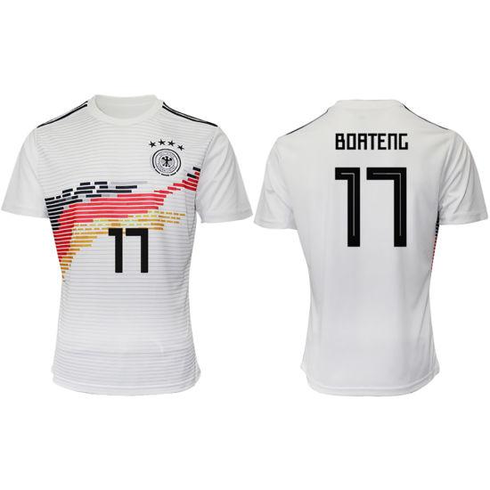new arrival e8f11 435b9 Wholesale Custom Germany National Team 2019 Home Soccer Jerseys