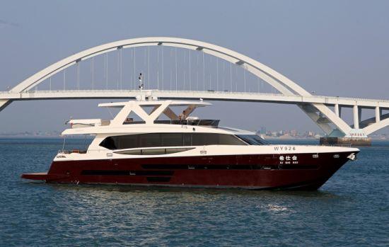 Sea Stella / Aquitalia 95FT Luxury Power Boat