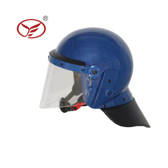 Hot Sale Anti Riot Helmet with Flat Visor