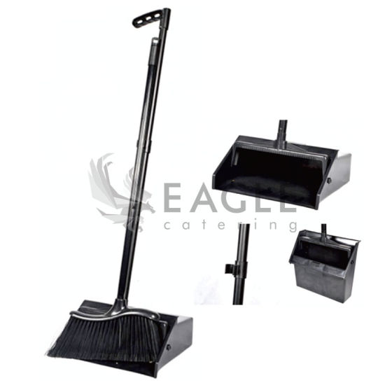 China Broom and Plastic Dustpan Set - China Broom Set, Sanitary Ware