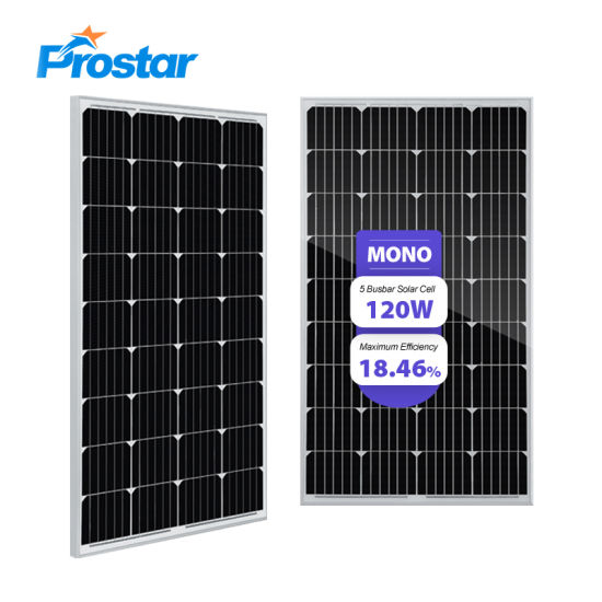 120w Mono Solar Panel 120 Wp Mono Solar Panel Photovoltaic Module Price China Supplier China Photovoltaic Module Mono Solar Panel Price