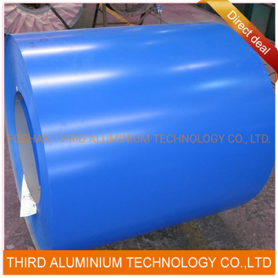 1050 3003 PE Paint Color Coated Aluminum Coil for Roofing/Cladding