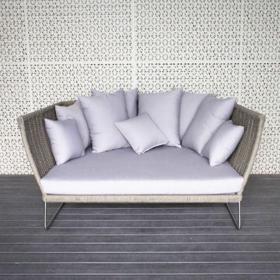 Hot Selling Europe-Style Garden Furniture Luxury Outdoor Rope Furniture Indoor Sofa Set