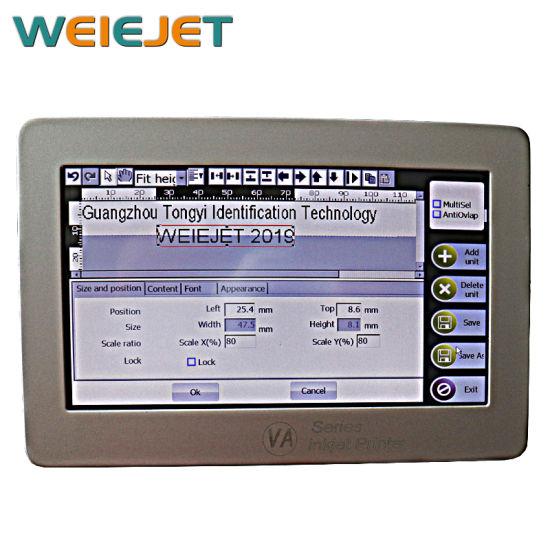 High Speed Online Mask Printer/Variable Code Printer for Mask Machine Printer