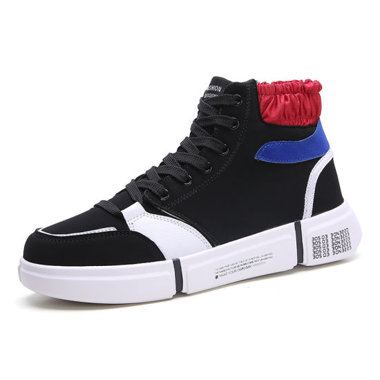 High Top Board Shoes Casual Shoe for Brand Service