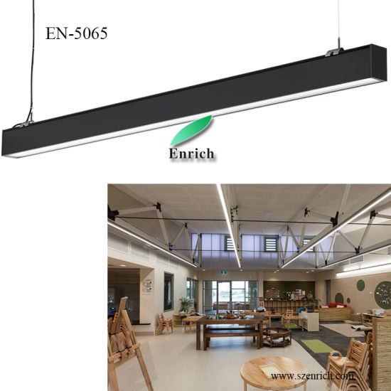 New! Anti-Glare 5065 LED Linear Light, Linear LED Luminaire for Office, Supermarket, School with 50*65mm Size