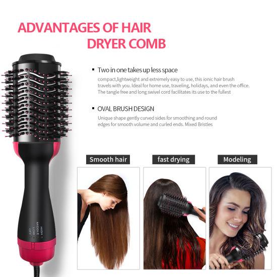 China One Step Hair Dryer & Volumizer, Hair Dryer Brush Hot
