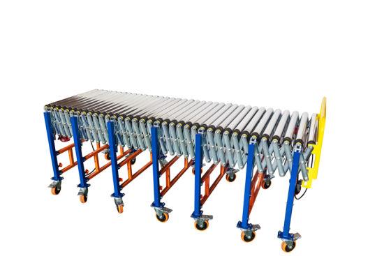 Power Telescoping Conveyor Suitable for Industry Cargo Transportation