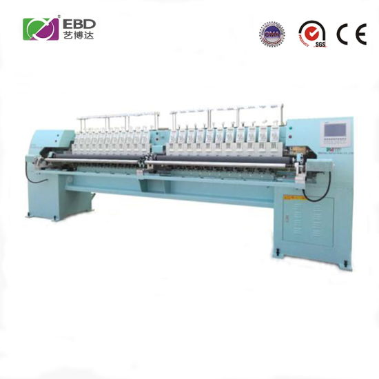 Ybd424 High Speed 4-Color Quilting Embroidery Machine for Clothing