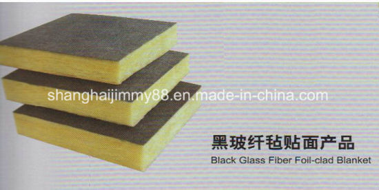 Fiberglass Black Roofing Surface Mat Tissue for Acoustical Material