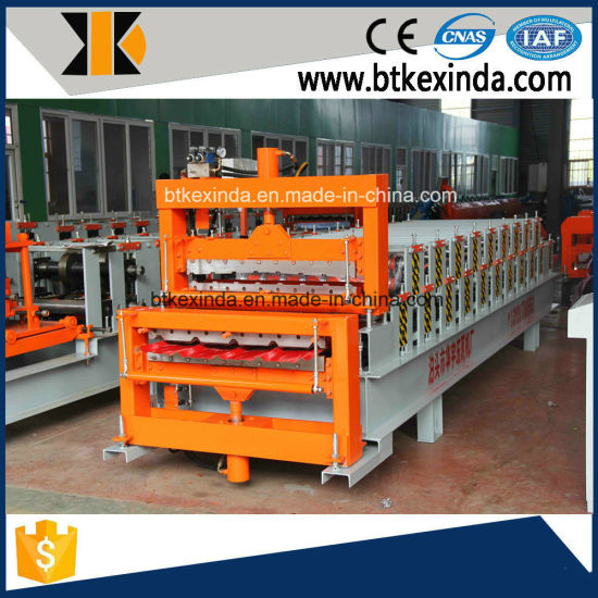Double Deck Metal Sheet Roofing Profile Forming Machine pictures & photos