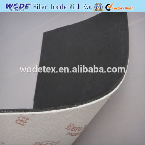 Hot-Sale Mixed Colors Fiber Insole Board with Foam EVA for Shoe Insole Material pictures & photos