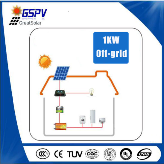 1kw Solar Power System Easy to Install by Yourself