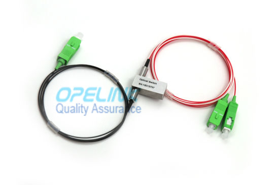 1X2 Fiber Optic Switch Mechanical Optical Switch-Osw with Sc/APC Fiber Optic Connector pictures & photos