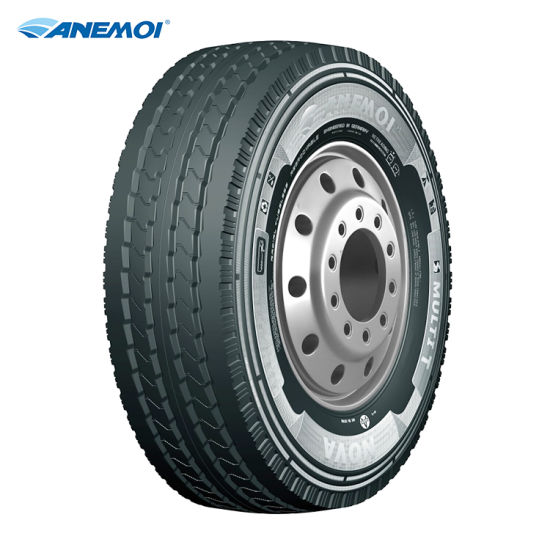 Anemoi Multi T 385/65r22.5 High Quality Enhanced Mileage Truck Tyre for Regional Use