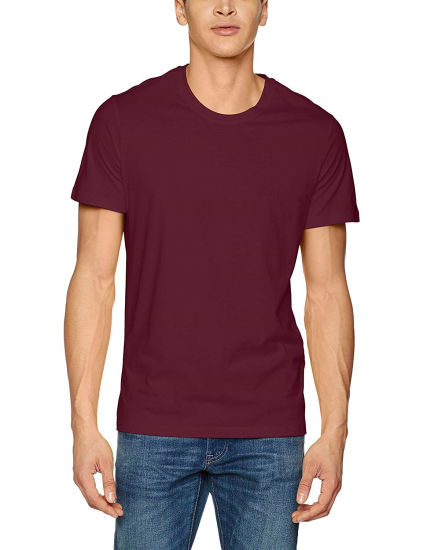 Men Merino Wool Crew Neck Short Sleeve T Shirt