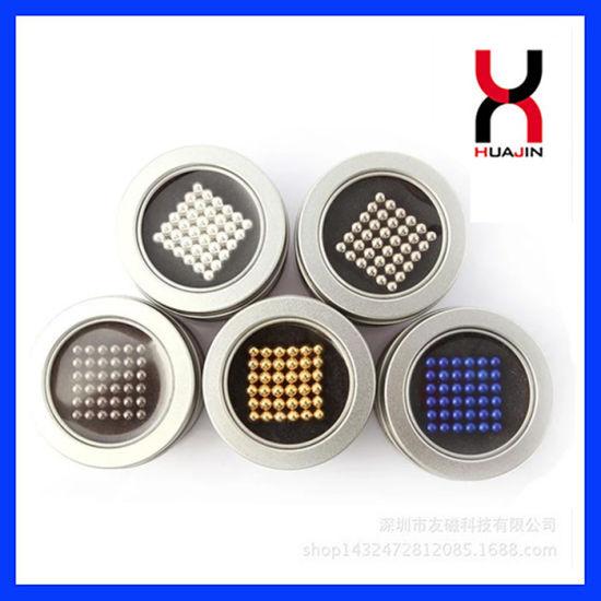 5mm Neodymium Sphere/Neocube/Ball Magnet Intelligent Toys