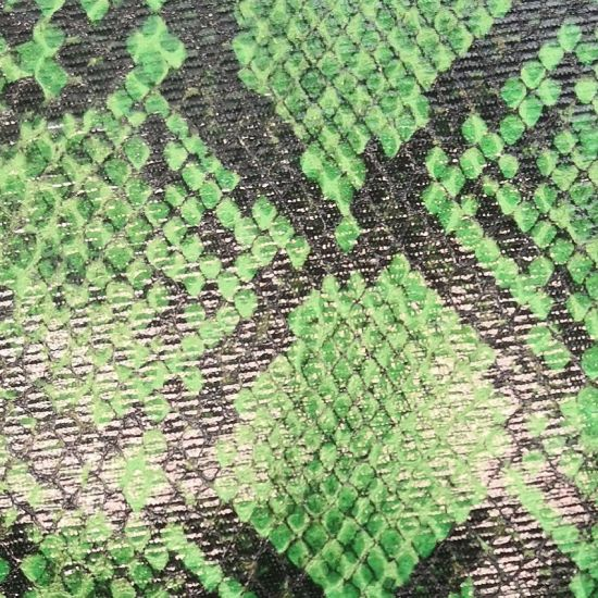 Python Pattern PU Laminated Leather for Bags, Handbags. pictures & photos