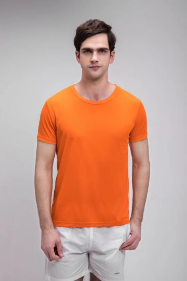Good Quality Breathable Dry Quick Short Sleeve Promotional T-Shirt Wholesale