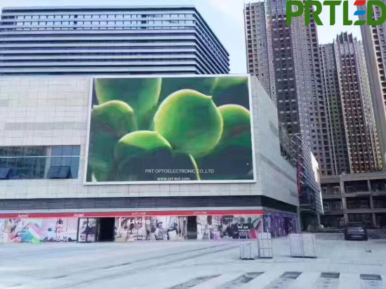 Outdoor Full Color Outdoor LED Advertisement Screen with High Brightness (P10, P8)