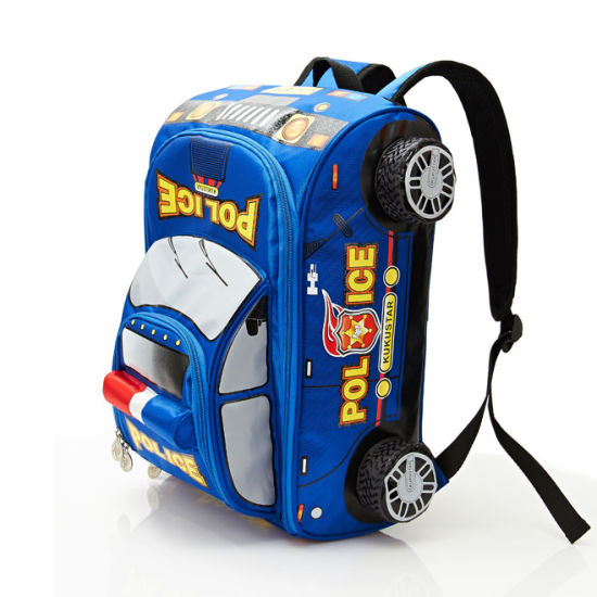 Car Shaped Children School Bag Wholesale Children's School Bag