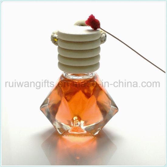 8ml Car Glass Perfume Bottle Air Freshener