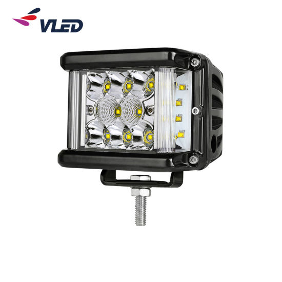 2019 latest IP69K 4 Inch Spot Beam LED ATV Parts Scene Light Bar for Jeep Offroad