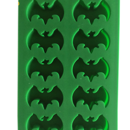 Custom Bat Shap Ice Mould Of Silicone Material Can Be P Food Grade