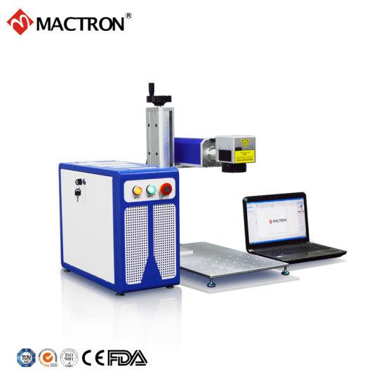 30W Portable Mini Desktop Fiber Laser Marking Machine