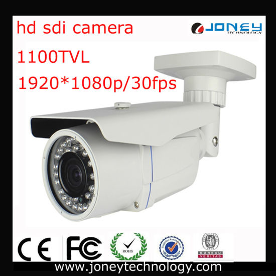HD Sdi Weatherproof Camera with 40m IR and Vari-Focal Lens pictures & photos