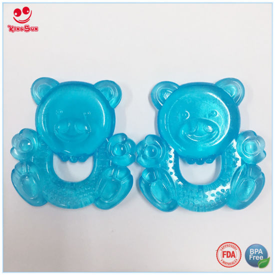 Christmas Gift Water Filled Baby Teether pictures & photos