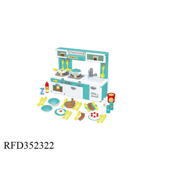 New Arrive B O Small Kitchen House Toy Kitchen Set Toy Kids Cooking Food With Water Sound And Light China Kitchen Toy And Pretend Play Kitchen Toys Price Made In China Com