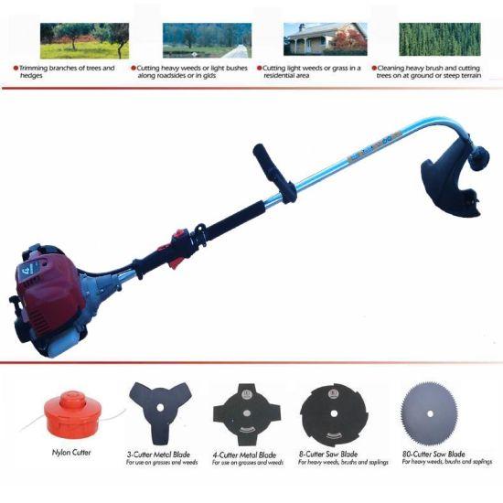 4-Cycle Gx35 Engined Bent Power Trimmer Bent Shaft Brush Cutter Grass Cutter Grass Trimmer