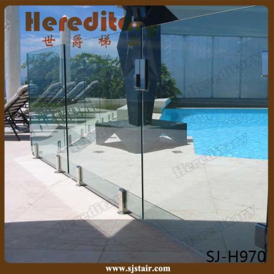 Hot Sales Safety Privacy Frosted Glass Balcony Fence (SJ-H937) pictures & photos