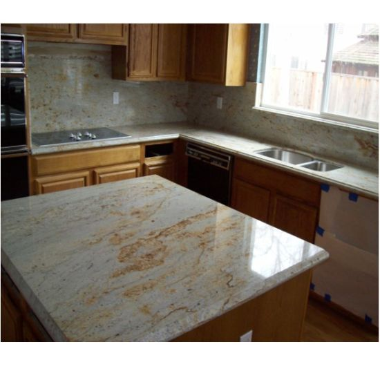 Imperial Gold Granite Countertop for Kitchen Bathroom pictures & photos