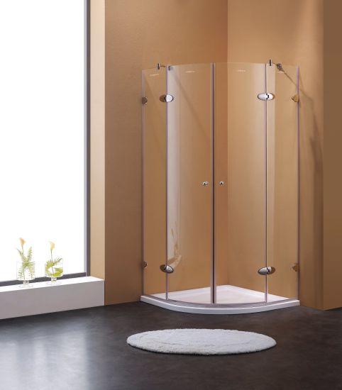 China Frameless Hinge Door Shower Room Shower Enclosure - China ...