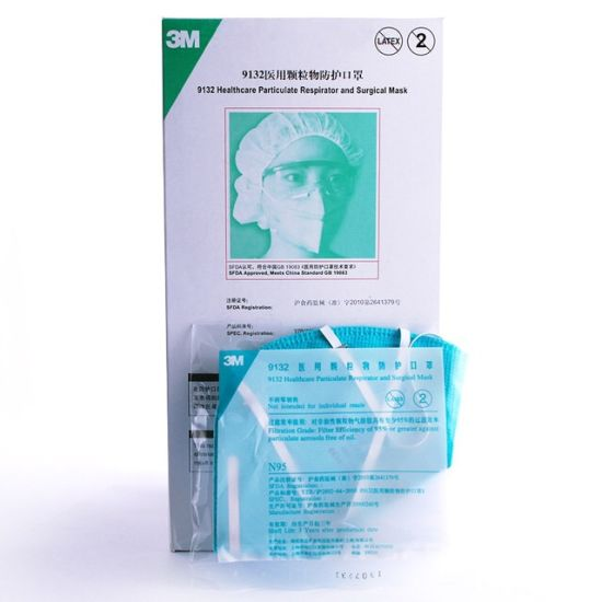 surgical Mask Particles 3m 9132 Medical Dust N95