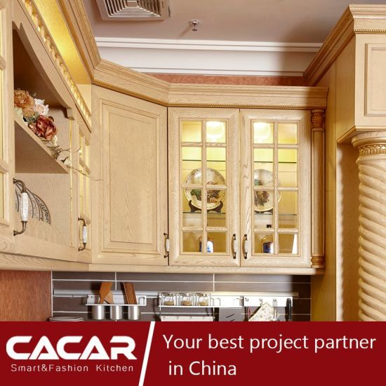The Return King America Oak Spray Lacquer Kitchen Cabinet (CA09-13) pictures & photos