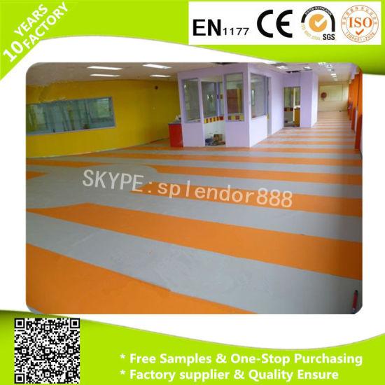 Environmental 3D PVC Vinyl Flooring Roll