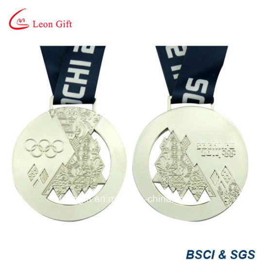 Promotion Metallic Honor Medal with Neck Ribbon pictures & photos