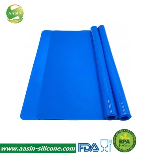 Silicone Baking Mats for Dough Rolling Pastry Fondant Mat Large Nonstick and Nonslip, Countertop Protector, Dining Table Mat and Placemat