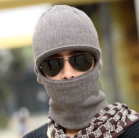 Robbery Mask Man 2 Ways Knitting Knitted Winter Hat pictures & photos
