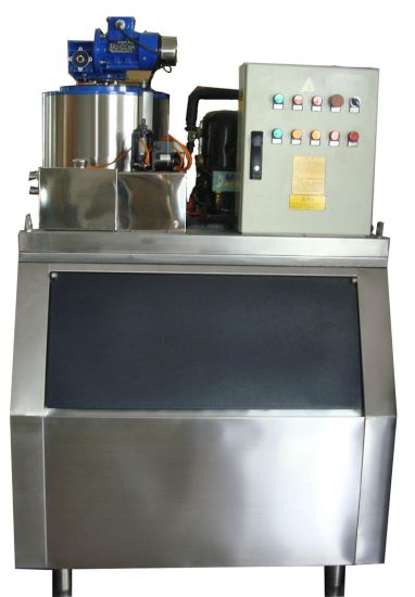 1000kgs Flake Ice Machine for Supermarket Fresh pictures & photos