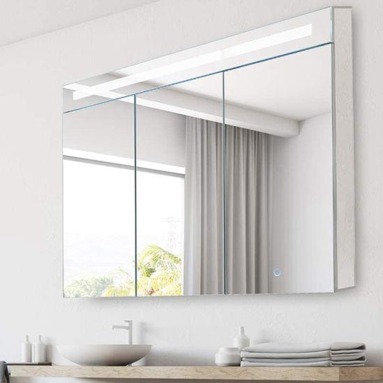 China 3 Doors Design Makeup Bathroom, Bathroom Mirrors Medicine Cabinets