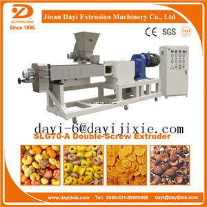 High Quality Low Price Corn Puffed Snack Extruder Machine pictures & photos