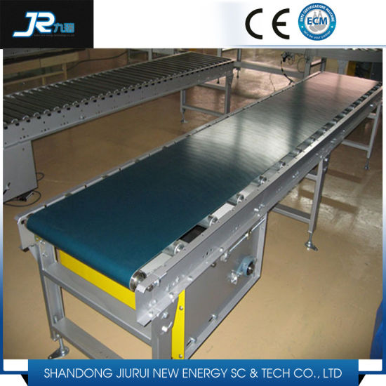 High Quality Food Grade PVC Rubber Flat Belt Conveyor pictures & photos