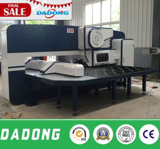 CNC Turret Punching Machine with Oversea Service for Free pictures & photos