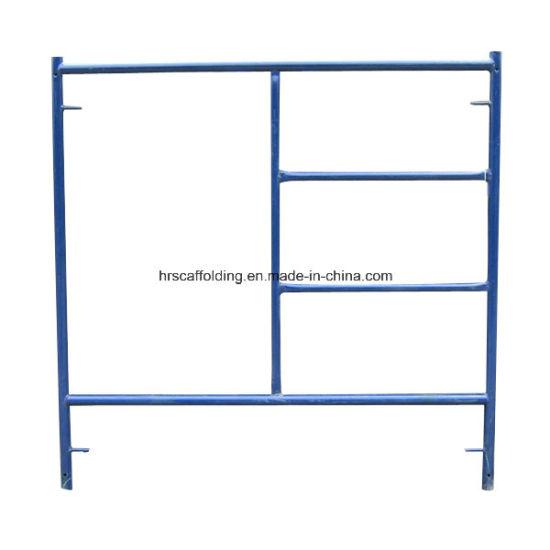 China Ladder Frame/ Walk Through Frame Scaffold - China Scaffolding ...