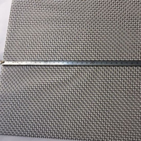 China 40 Mesh, 0.25 mm Wire, Ss304, 304L, 316, 316L Stainless Wire ...